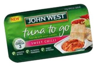 tuna to go sweet chilli