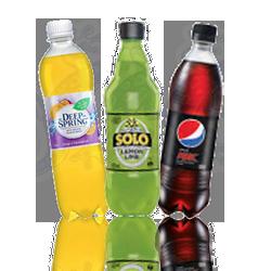 Soft Drink Bottles for You Gecko Vending