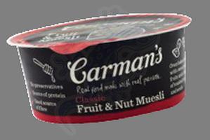 carmans fruit muesli tub 50g x 12_med