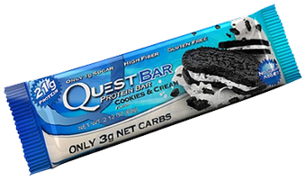 cookies and cream quest bar_med 1