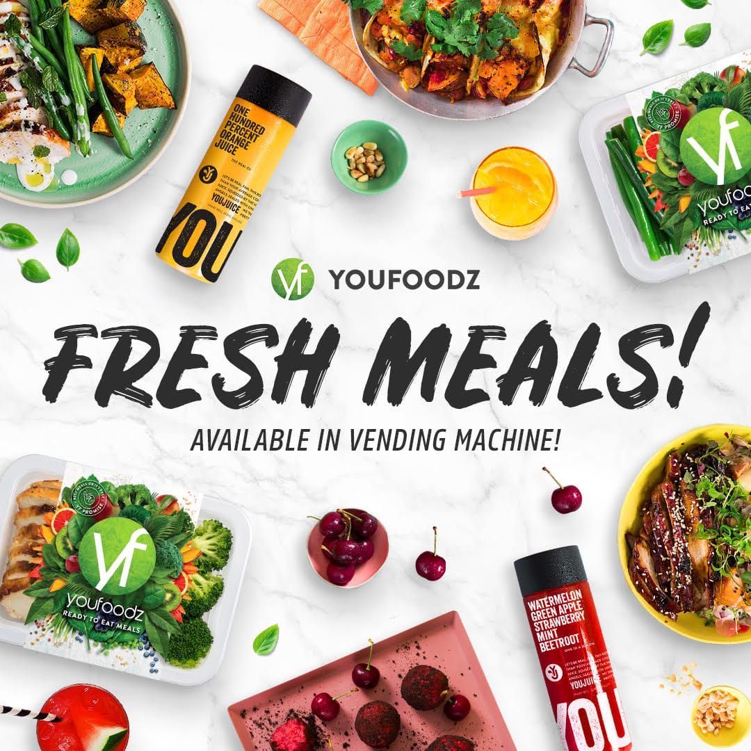 youfoodz available in vending machine